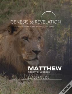 Wook.pt - Genesis To Revelation: Matthew Leader Guide - Ebook [Epub]