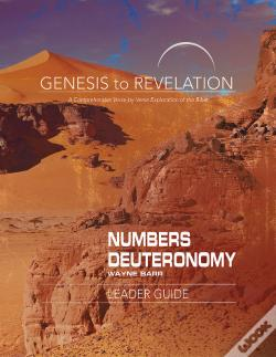 Wook.pt - Genesis To Revelation: Numbers, Deuteronomy Leader Guide
