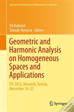 Wook.pt - Geometric And Harmonic Analysis On Homogeneous Spaces And Applications