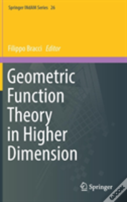 Wook.pt - Geometric Function Theory In Higher Dimension