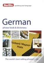 German Phrase Book Dictionary