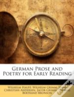 German Prose And Poetry For Early Readin