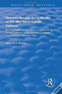 Wook.pt - German Secular Song Books Of The Mi