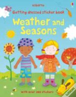 Wook.pt - Getting Dressed Sticker Book Weather And Seasons