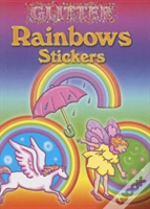Glitter Rainbow Stickers