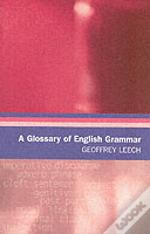 Glossary Of English Grammar