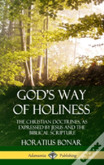 God'S Way Of Holiness: The Christian Doctrines, As Expressed By Jesus And The Biblical Scripture (Hardcover)