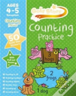 Gold Stars Counting Practice Ages 4-5