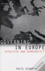 Governing In Europe