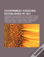 Government Agencies Established In 1921: Government Accountability Office, Toronto Transit Commission, List Of Bus Routes In Toronto