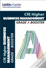 Grade Booster - Higher Business Management Grade Booster