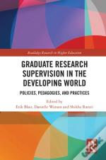 Graduate Research Supervision In The Developing World