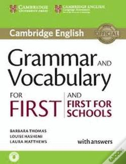 Wook.pt - Grammar And Vocabulary For First And First For Schools Book With Answers And Audio