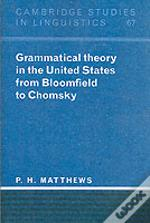Grammatical Theory In The United States