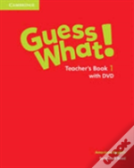 Guess What! American English Level 1 Teacher'S Book With Dvd