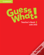 Guess What! Level 1 Teacher'S Book With Dvd Video Combo Edition