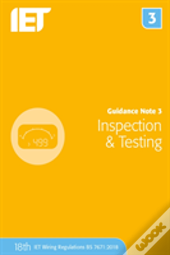 Guidance Note 3 Inspection & Testing
