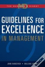 Guidelines For Excellence In Management