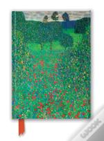 Gustav Klimt Poppy Field Journal