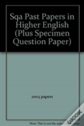 H English Sqa Past Papers 2000 To 2003