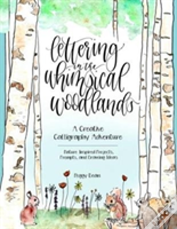 Wook.pt - Hand Lettering In The Whimsical Woodland