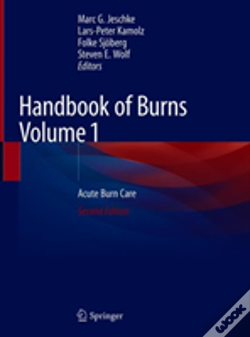 Wook.pt - Handbook Of Burns Volume 1