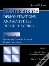 Handbook Of Demonstrations And Activities In The Teaching Of Psychology, Second Edition
