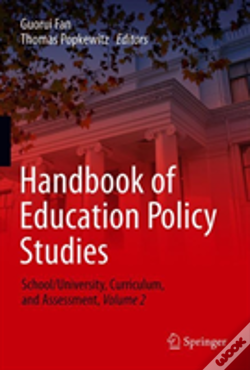 Wook.pt - Handbook Of Education Policy Studies
