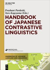 Handbook Of Japanese Contrastive Linguistics