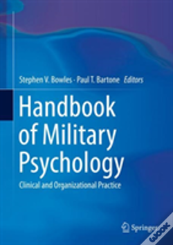 Wook.pt - Handbook Of Military Psychology