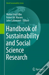 Handbook Of Sustainability And Social Science Research
