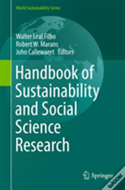 Wook.pt - Handbook Of Sustainability And Social Science Research
