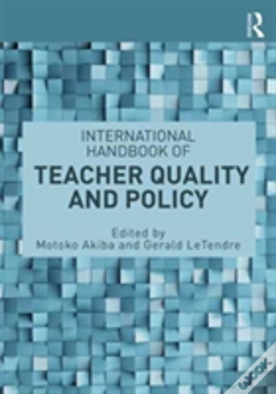 Wook.pt - Handbook Of Teacher Quality And Pol