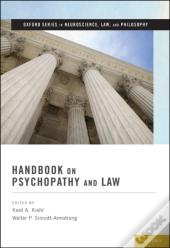 Handbook On Psychopathy And Law