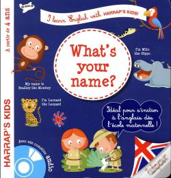 Wook.pt - Harrap'S I Learn English : What'S Your Name ?