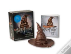 Wook.pt - Harry Potter Talking Sorting Hat And Sticker Book