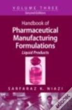 Hb Of Pharmaceutical Manufacturing Formu