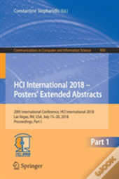 Hci International 2018 - Posters' Extended Abstracts