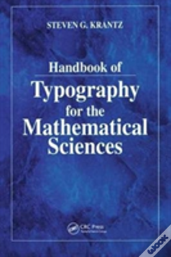 Wook.pt - Hdbk Of Typography For Mathl Scis
