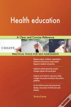 Wook.pt - Health Education A Clear And Concise Reference