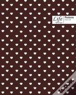 Hearts Pattern Composition Notebook