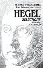 Hegel Selections