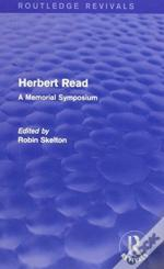Herbert Read And Selected Works