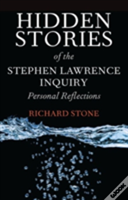 Wook.pt - Hidden Stories Of The Stephen Lawrence Inquiry