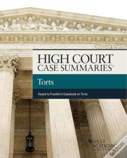 Wook.pt - High Court Cases Summaries On Torts (Keyed To Franklin)