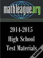 High School Test Materials 2014-2015