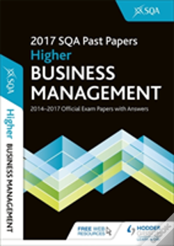Wook.pt - Higher Business Management 2017-18 Sqa Past Papers With Answers