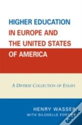 Higher Education In Europe And The United States Of America