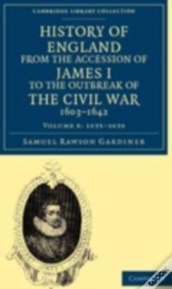 Wook.pt - History Of England From The Accession Of James I To The Outbreak Of The Civil War, 1603-1642