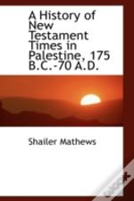 History Of New Testament Times In Palestine, 175 B.C.-70 A.D.